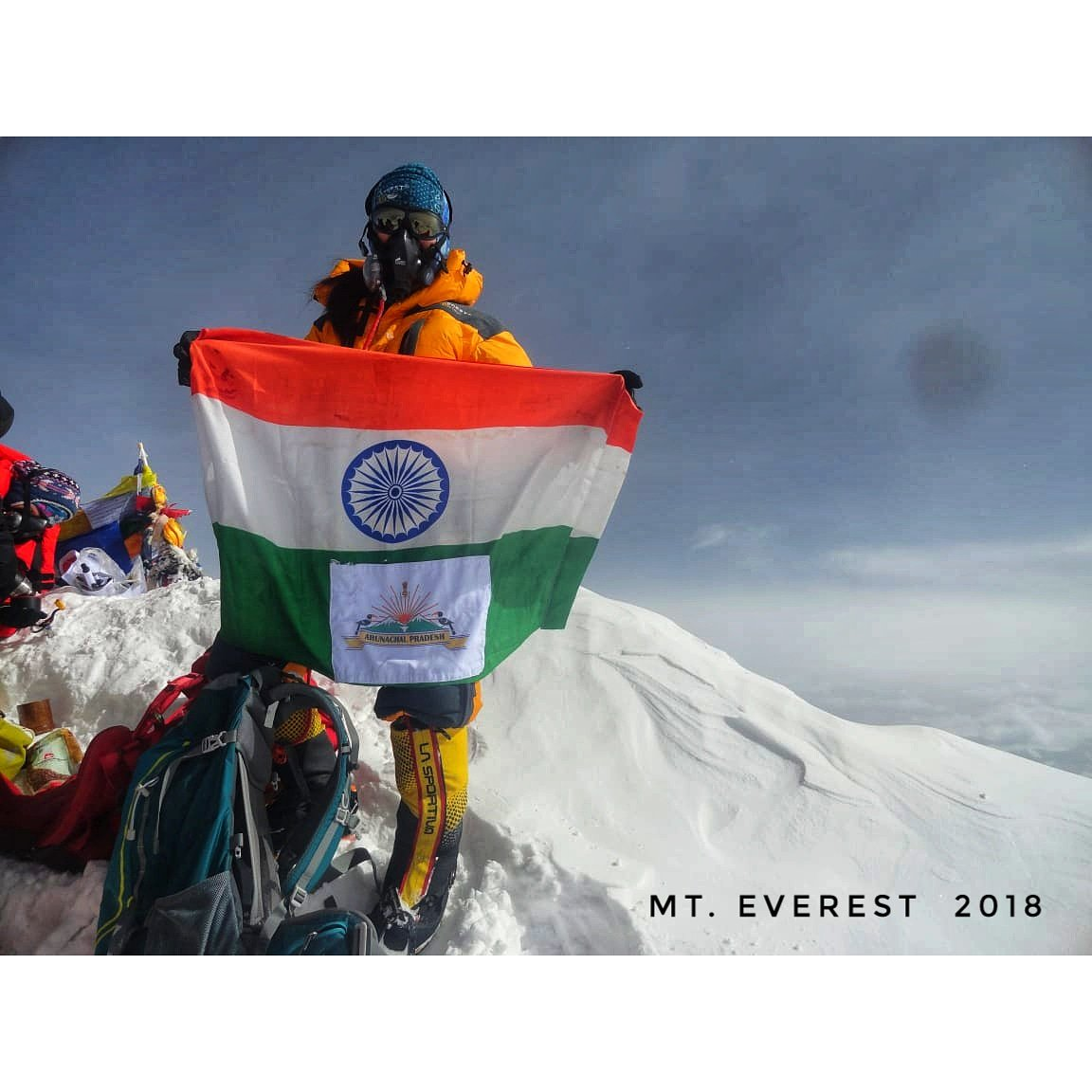 """Everything came to a standstill when I conquered Mount Everest"""