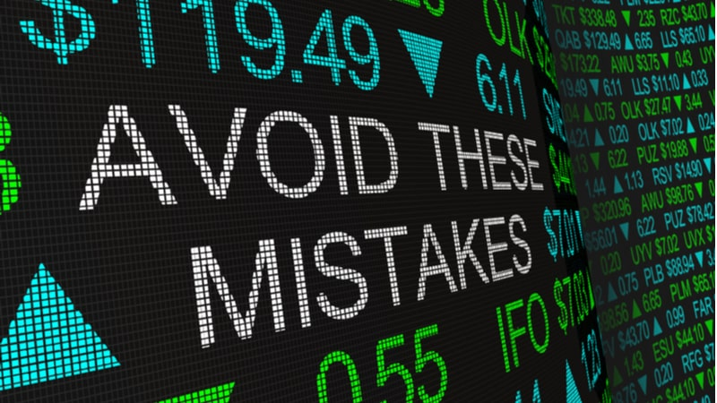 6 Common stock trading mistakes you should avoid