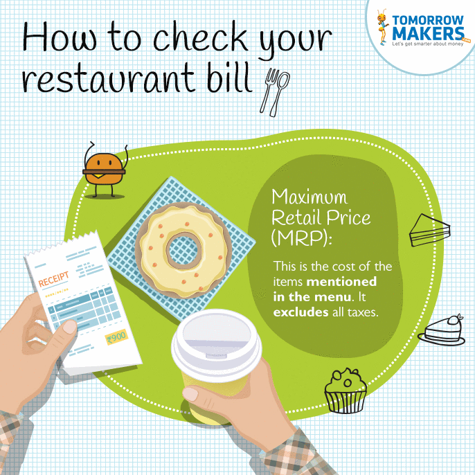 How to check your restaurant bill