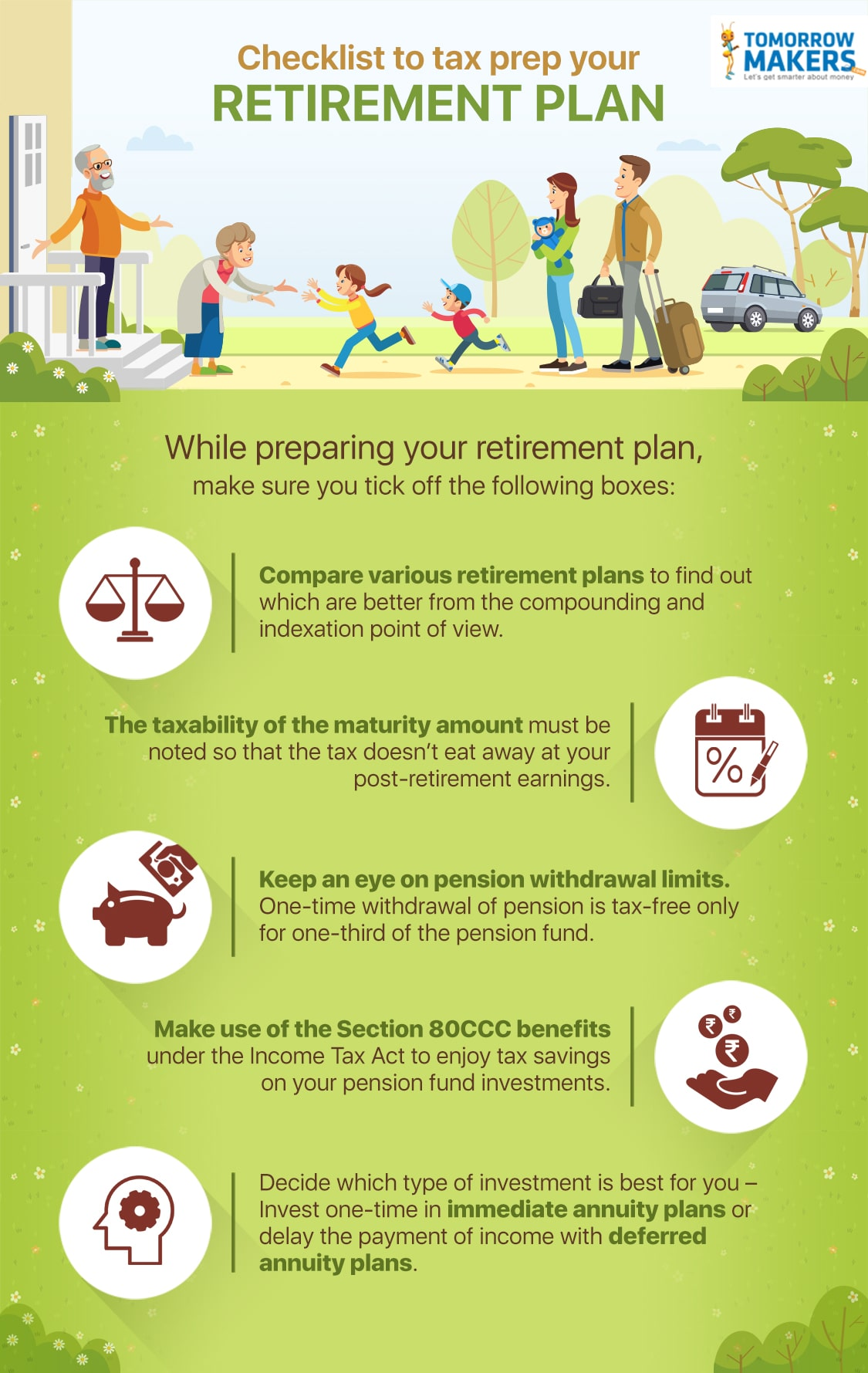 Checklist to tax prep your retirement plan