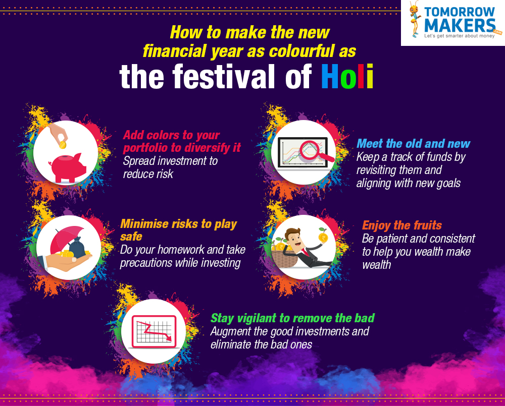 How to make the new financial year as colourful as the festival of Hol
