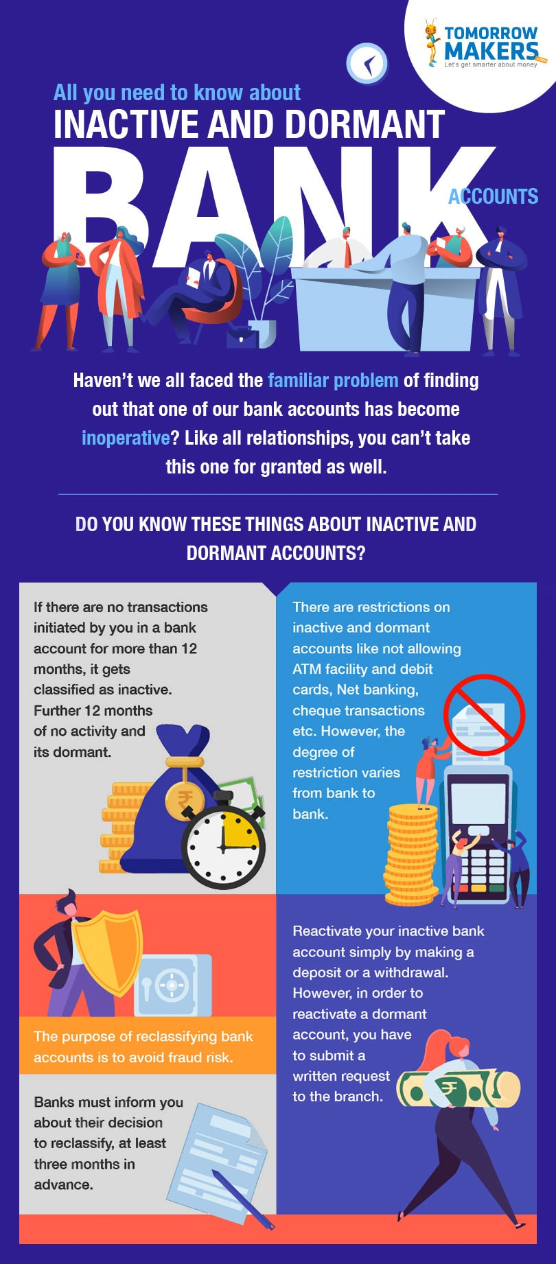 All you need to know about inactive and dormant bank accounts