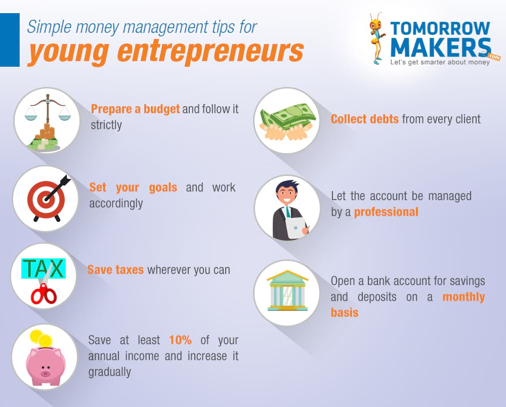 Money Management Tips for Young Entrepreneurs
