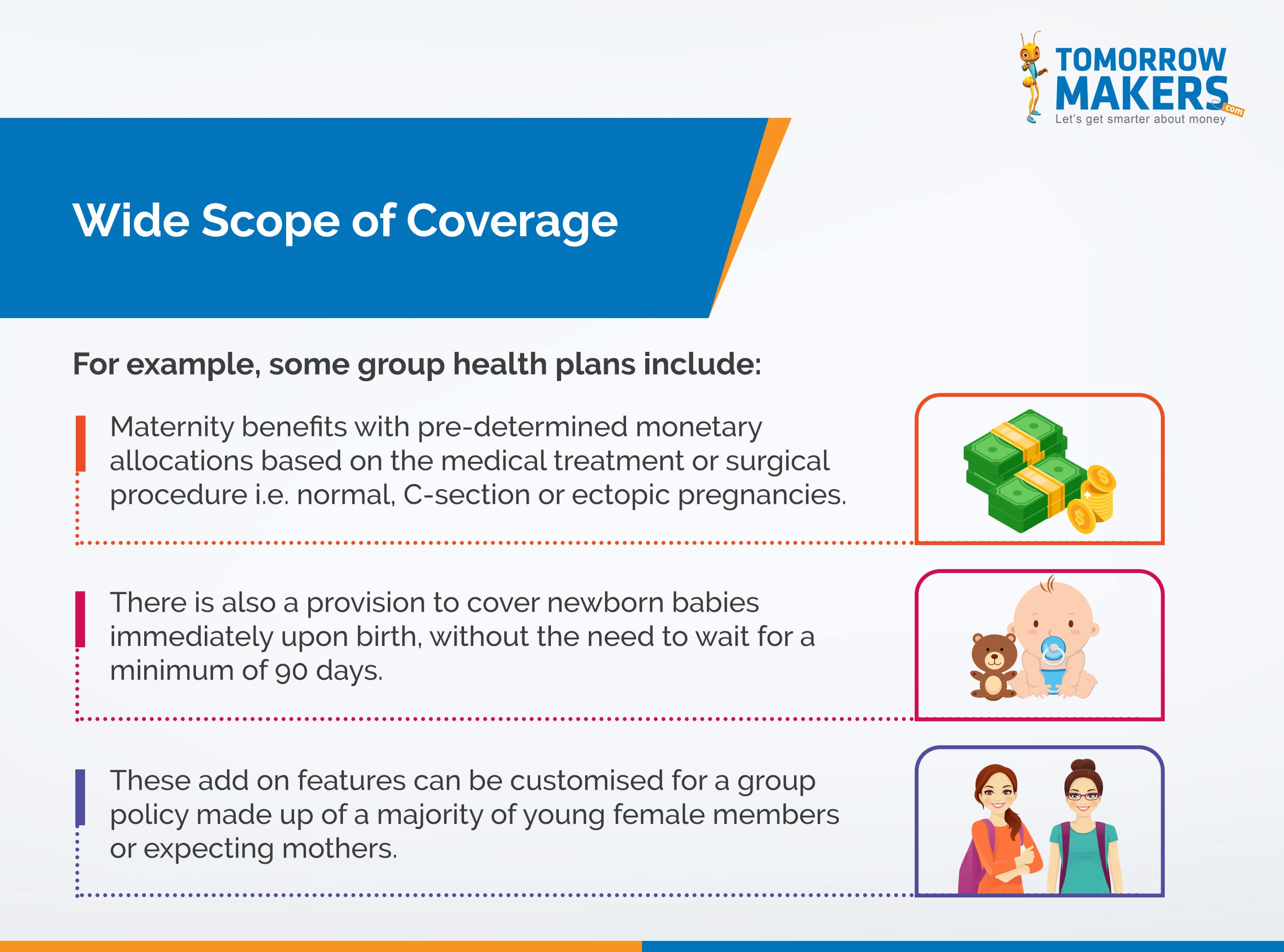 What are the pros and cons of buying a group health cover?