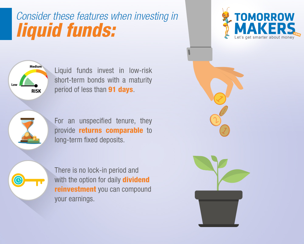 Why keep money in a savings account when you can invest in these liquid mutual funds?