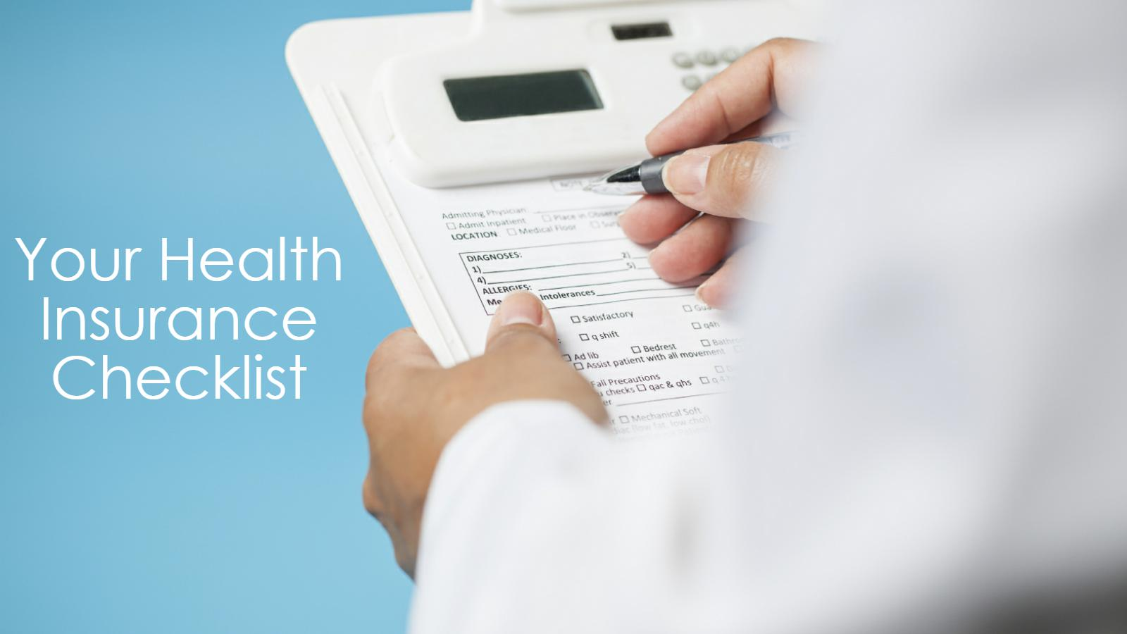 Things to check before you buy a health insurance