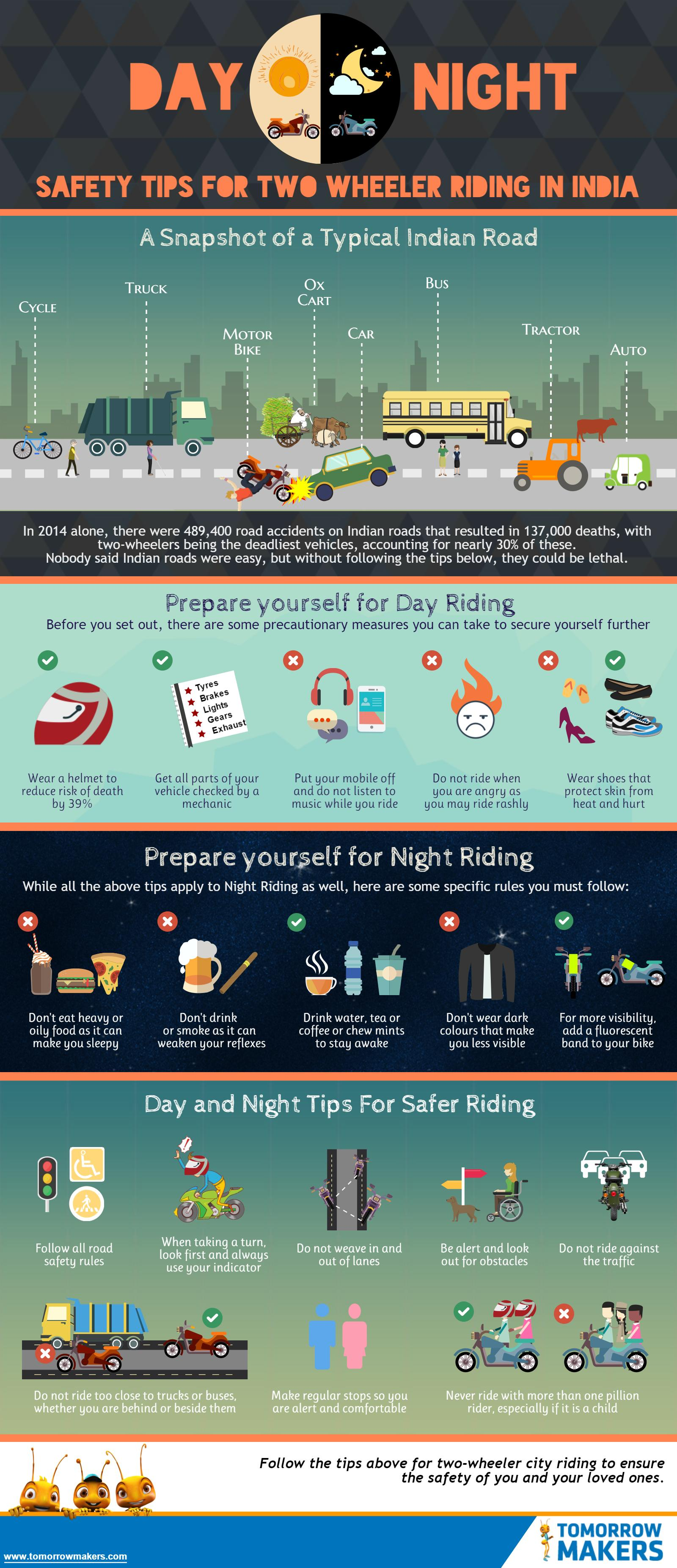 day-and-night-safety-tips-for-two-wheelers-riding-in-india-infographic