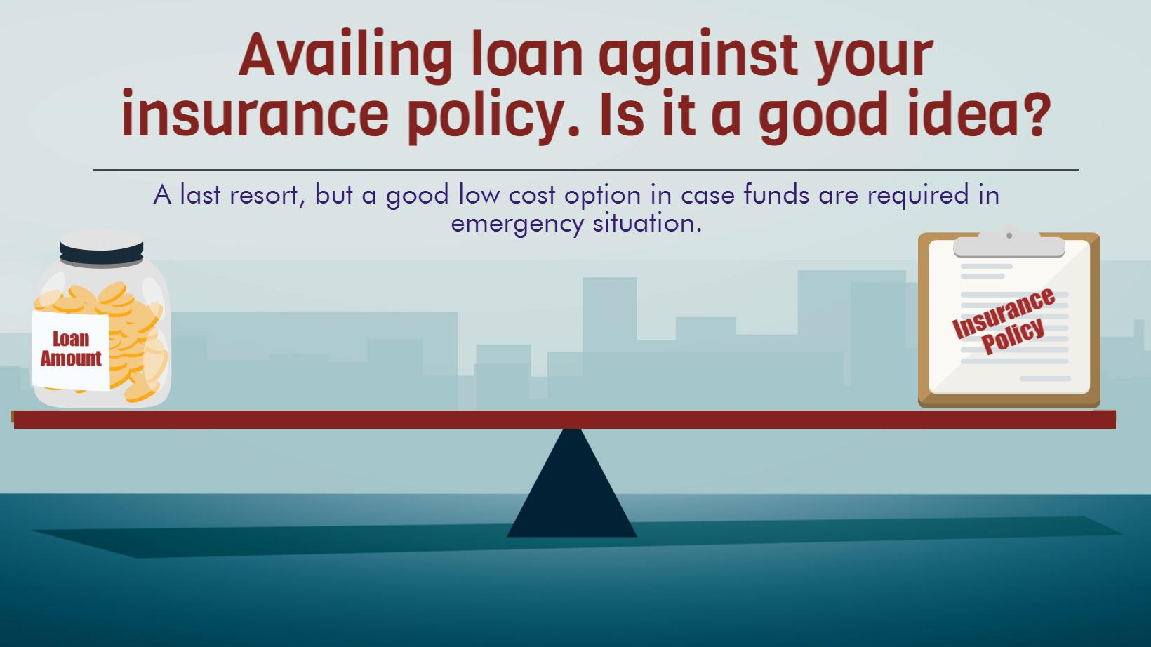 Did you know you can avail a loan against your insurance ...