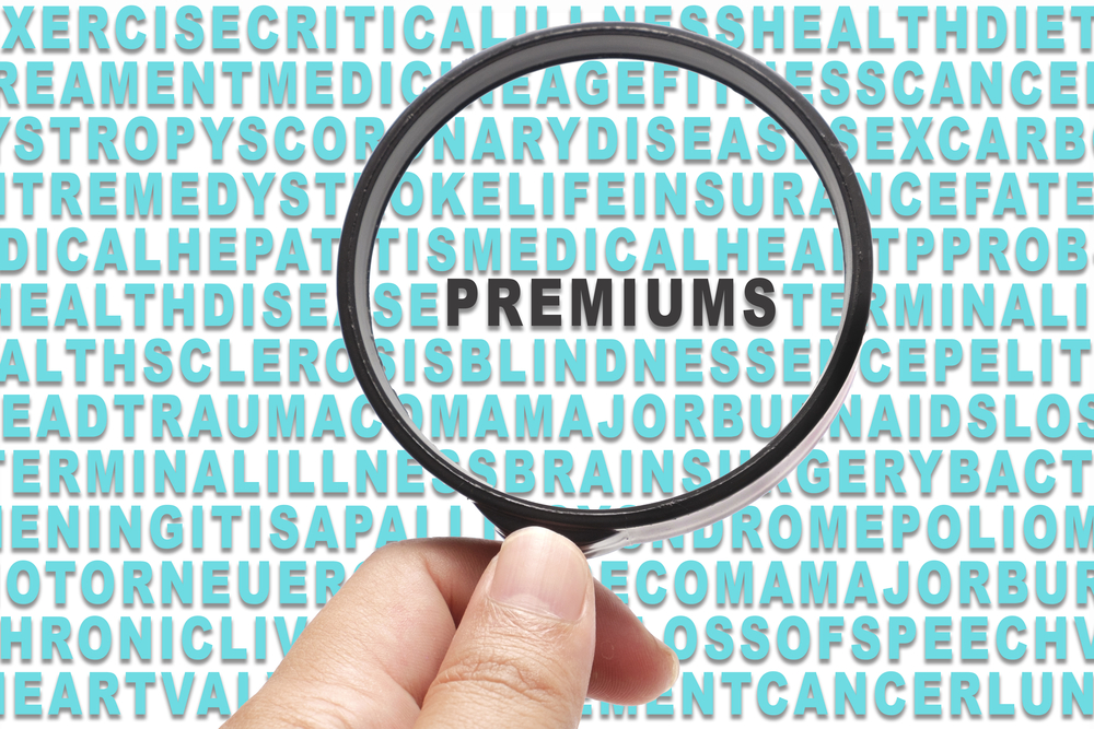 How are health insurance premiums calculated ?