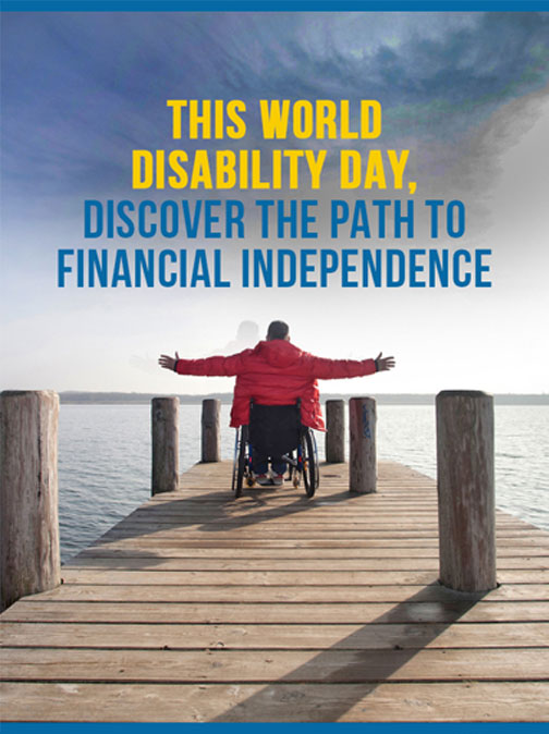 The path to financial independence for the disabled