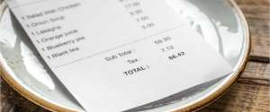 Here's how to read your restaurant bill