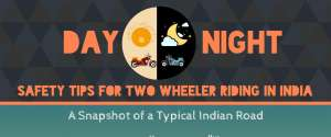 Day and Night - Safety tips for two wheelers riding in India