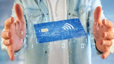 NFC credit debit card