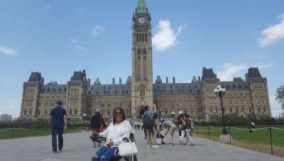 Unstoppable: Meet fearless Pammu Parvinder Chawla who travels the world in her wheelchair