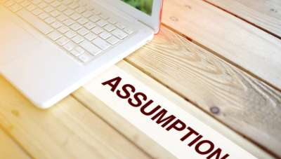 Why it's important to question your financial assumptions