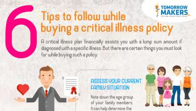 Tips to follow while buying critical illness policy