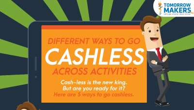 Cashless transaction options