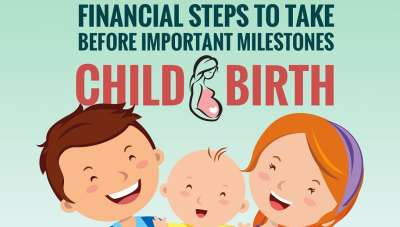 Financial planning before important milestones: Childbirth [Infographic]