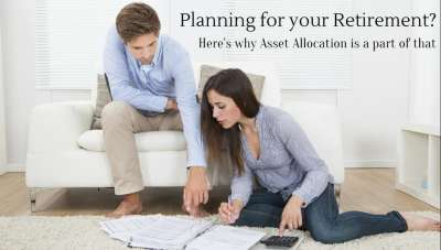 How is asset allocation linked to retirement planning?