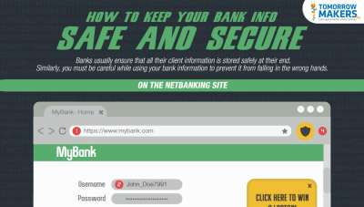 secure your banking information