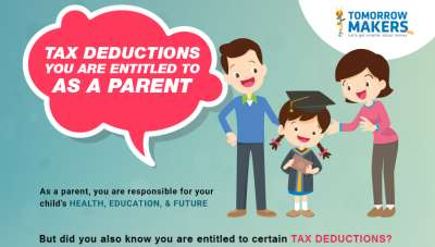 Tax deductibles you are entitled as a parent