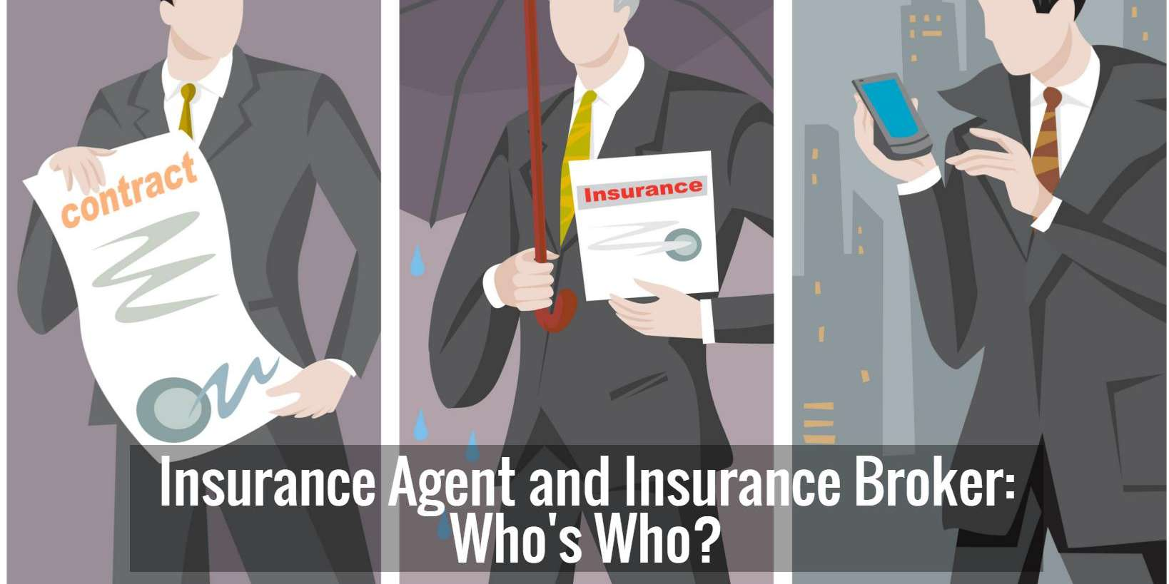 Difference between insurance agent and insurance broker