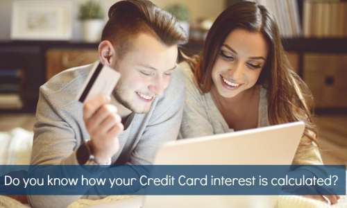 calculate credit card interest